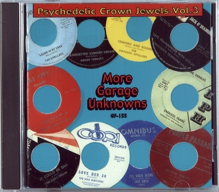 PSYCHEDELIC CROWN JEWELS - VOL. 3 (MORE GARAGE UNKNOWNS) (1965-1968)