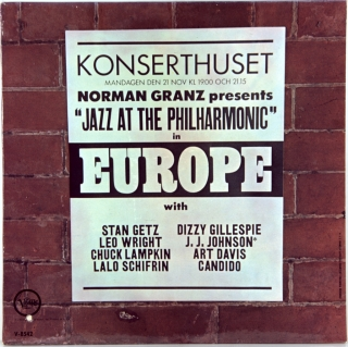 JAZZ AT THE PHILHARMONIC IN EUROPE VOL.4