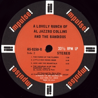 A LOVELY BUNCH OF AL JAZZBO COLLINS AND THE BANDIDOS
