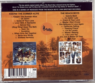 KEEPIN' THE SUMMER ALIVE / THE BEACH BOYS (1980/1985)