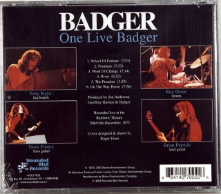 ONE LIVE BADGER