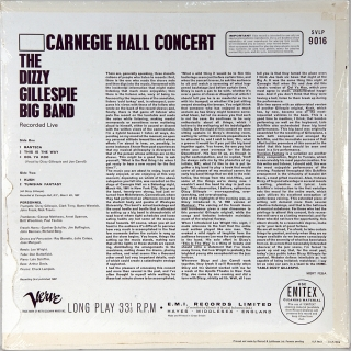 CARNEGIE HALL CONCERT - RECORDED LIVE
