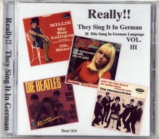 REALLY!! THEY SING IT IN GERMAN VOL. III