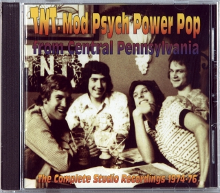 MOD PSYCH POWER POP FROM CENTRAL PENNSYLVANIA - THE COMPLETE STUDIO RECORDINGS 1974-76