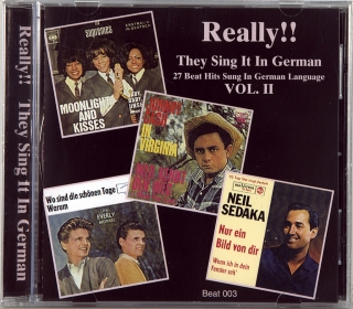 REALLY!! THEY SING IT IN GERMAN VOL. II