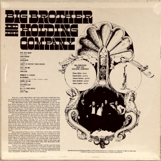 BIG BROTHER AND THE HOLDING COMPANY FEATURING JANIS JOPLIN