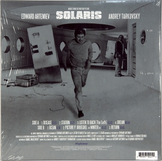 SOLARIS - MUSIC FROM THE MOTION PICTURE BY ANDREY TARKOVSKY
