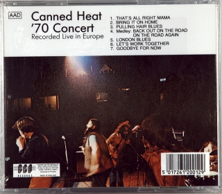 '70 CONCERT: RECORDED LIVE IN EUROPE