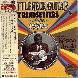 BOTTLENECK GUITAR TRENDSETTERS OF THE 1930s