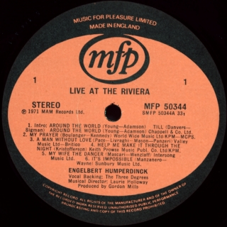 LIVE AT THE RIVIERA