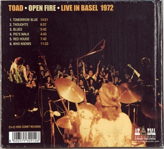 OPEN FIRE - LIVE IN BASEL 1972
