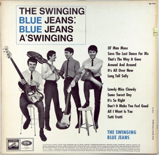 BLUE JEANS A'SWINGING