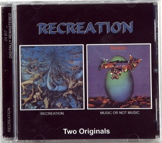 RECREATION / MUSIC OR NOT MUSIC (1971-1972)