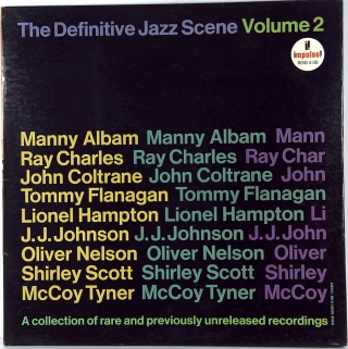 DEFINITIVE JAZZ SCENE VOLUME 2
