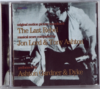 THE LAST REBEL • ORIGINAL MOTION PICTURE SOUNDTRACK