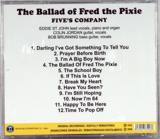 BALLAD OF FRED THE PIXIE