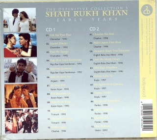 SHAH RUKH KHAN - THE DEFINITIVE COLLECTION 3 (1992-2002)