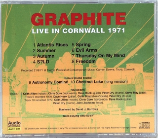 LIVE IN CORNWALL 1971