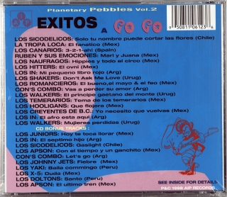 EXITOS A GO GO - PLANETARY PEBBLES VOL. 2