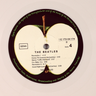 BEATLES (WHITE ALBUM)